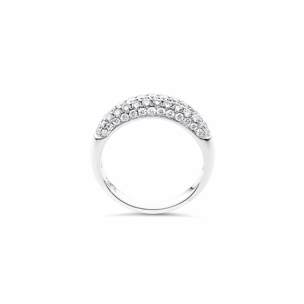 18ct white gold collection quality ladies diamond ring