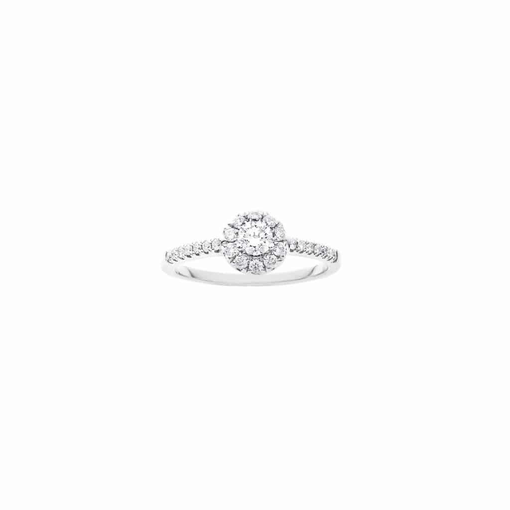 18ct collection quality diamond engagement ring
