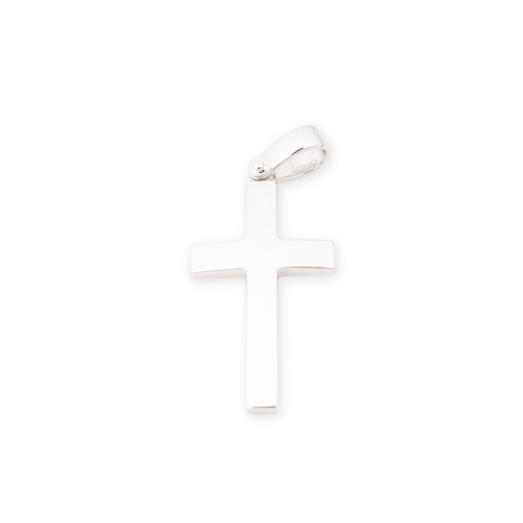 sterling silver gents cross pendant
